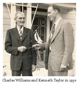 Charles Taylor and Kenneth Taylor in 1950