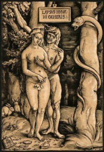 Hans Baldung Grien, The Fall of Man, 1511