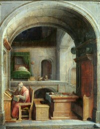 Jerome in his study